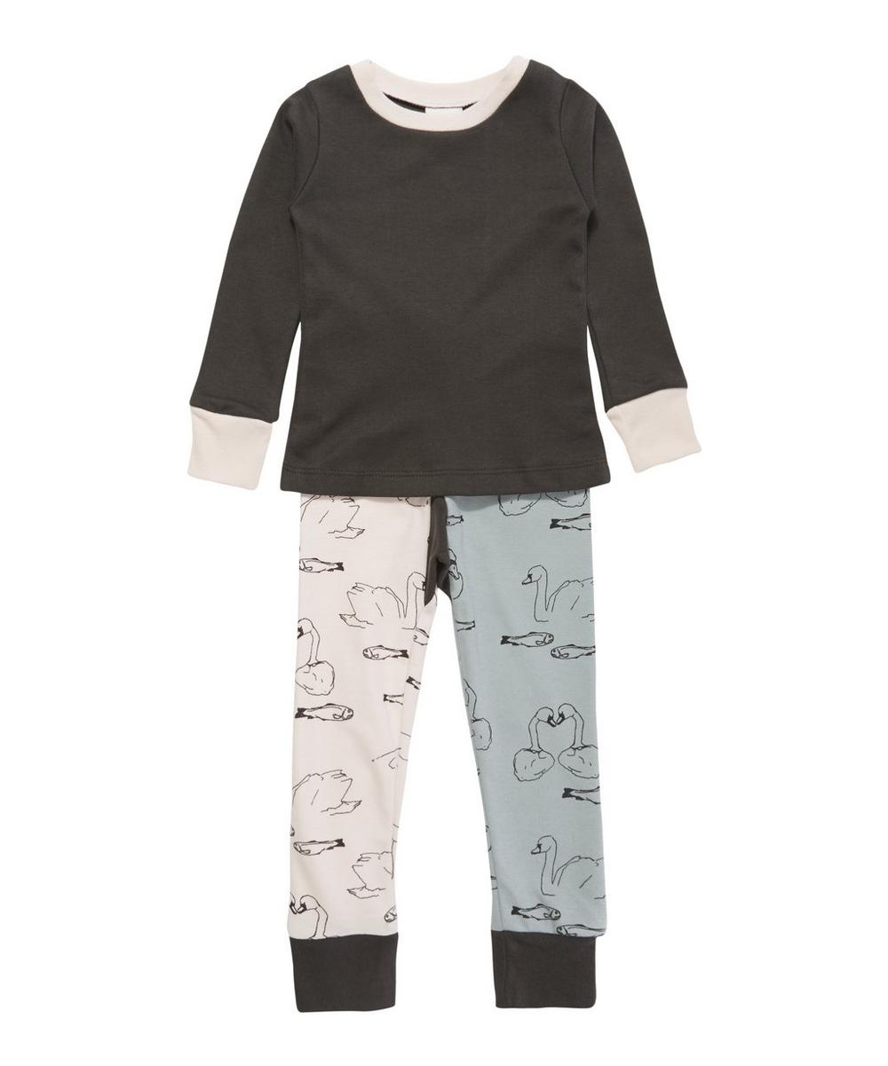 Slim Jyms Swimmers Print Pyjamas