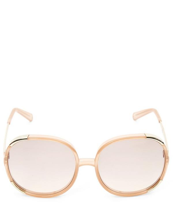 Myrte Oversized Round Sunglasses