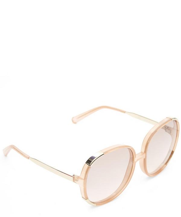 Myrte Oversized Round Sunglasses