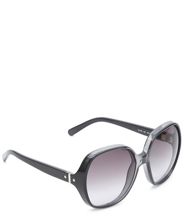 Misha Round Oversized Sunglasses