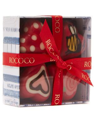 Hand Painted Baby Hearts Chocolate Box 60g