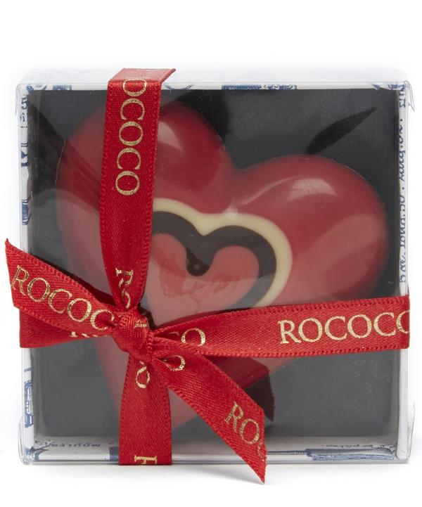 Hand Painted Solid Heart Chocolate