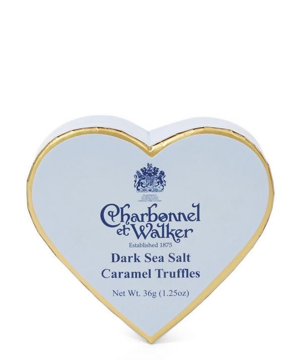 Dark Sea Salt Caramel Truffle