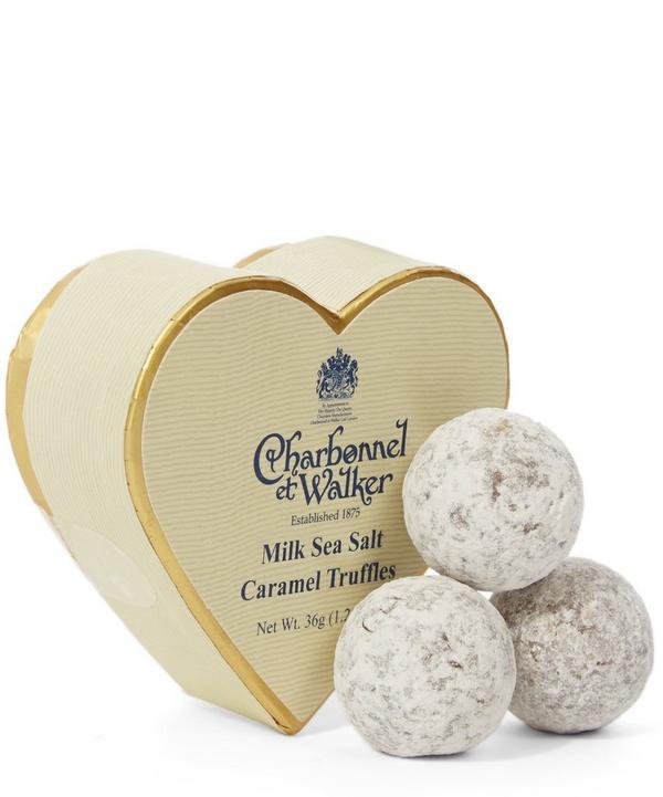 Milk Sea Salt Caramel Truffles