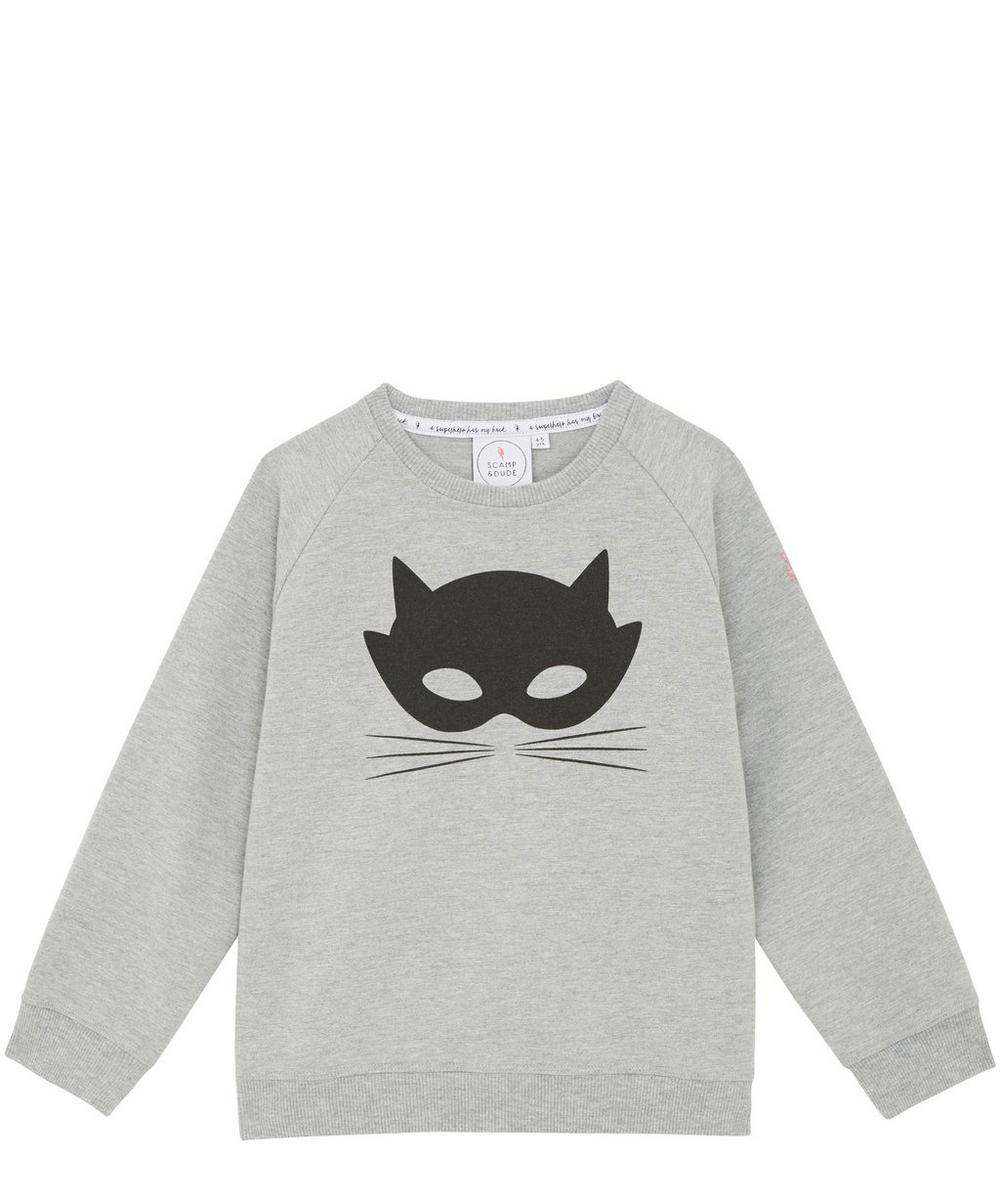 Cat Mask Chilled Fit Sweatshirt