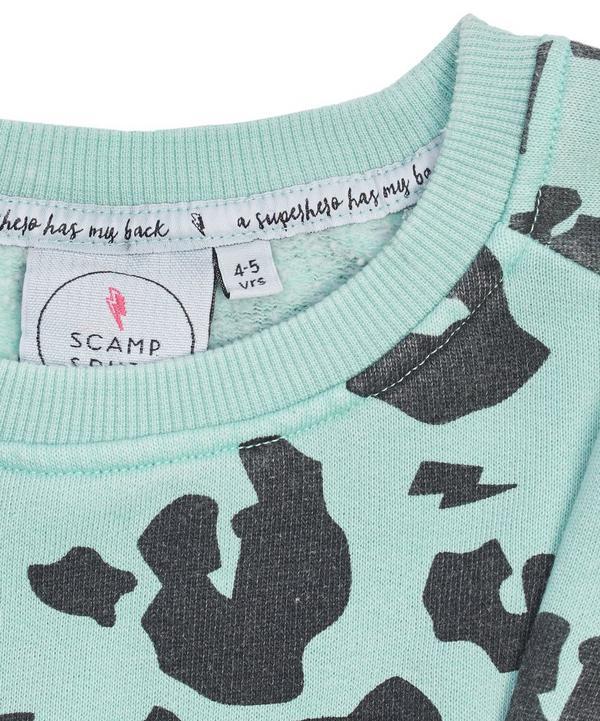 Leopard Print Super Soft Sweatshirt