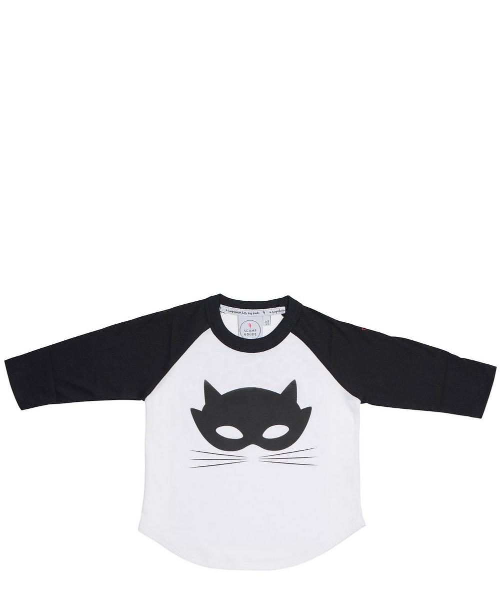 Cat Mask Super Charged Raglan
