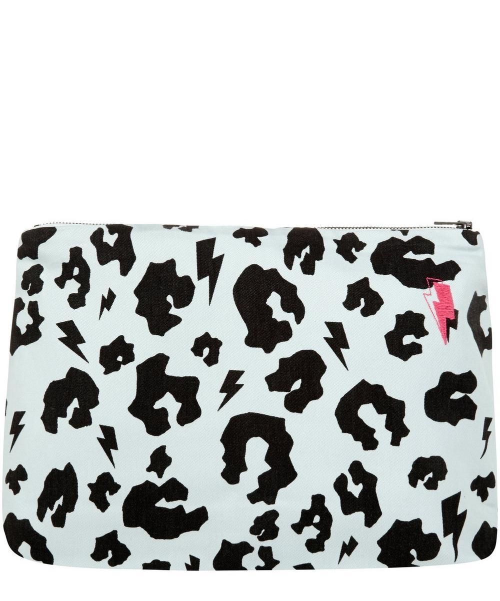 Leopard Print Swag Bag