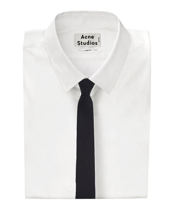 Classic Wool Twill Tie