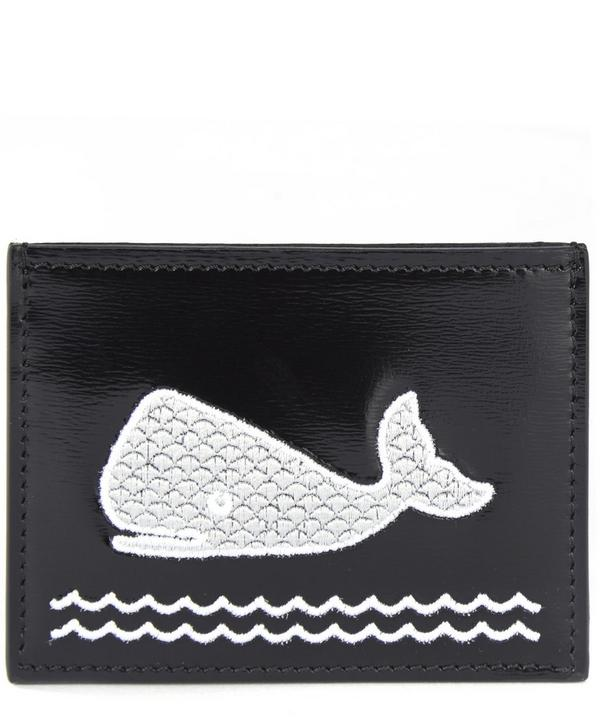 Embroidered Whale Cardholder