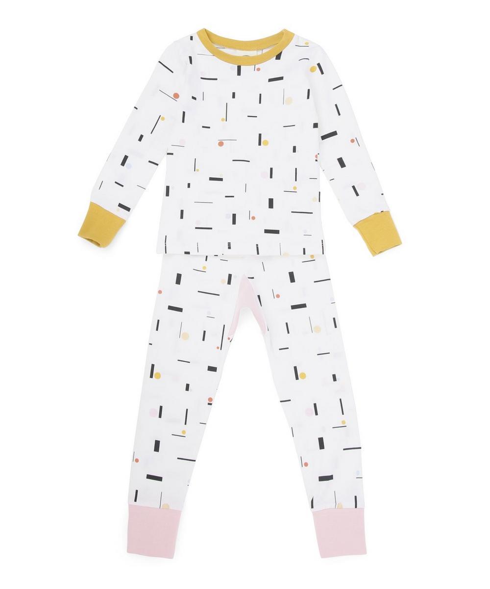 Calder Print Slim Jyms Pyjamas 6 Months-5 Years