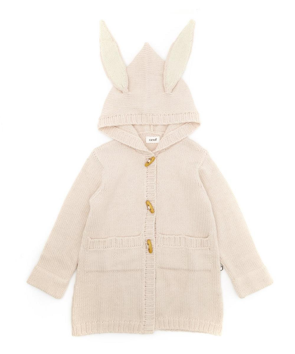 Bunny Toggle Sweater