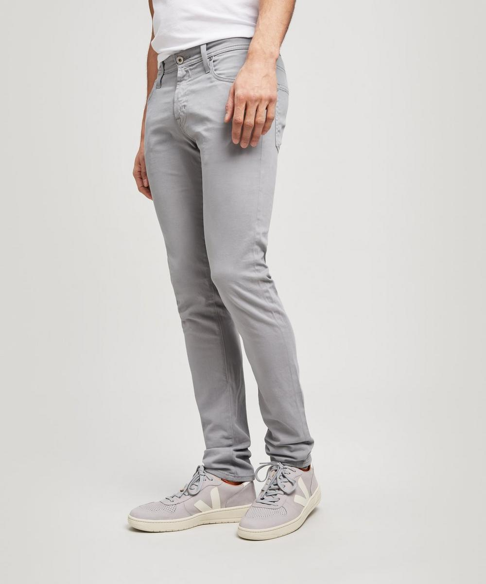 Sueded Stockton Skinny Jeans