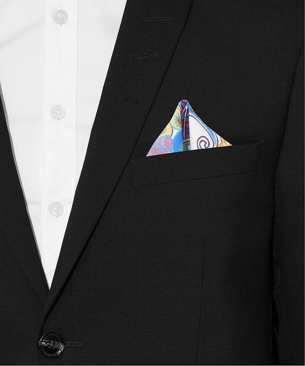 Artistic Paisley Silk Pocket Scarf