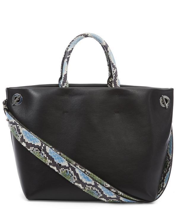Eole Watersnake Handle Tote Bag