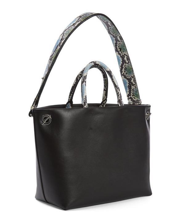 Eole Watersnake Handle Tote Bag