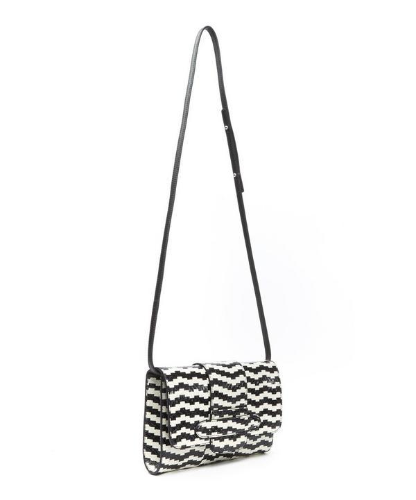 Phedra Optic Watersnake Clutch Bag