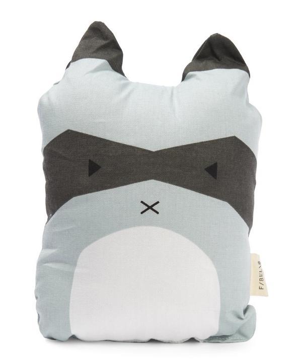 Rascal Racoon Cushion