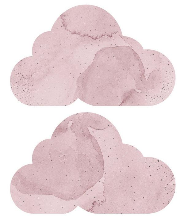 Dreamy Clouds Twilight Wall Sticker