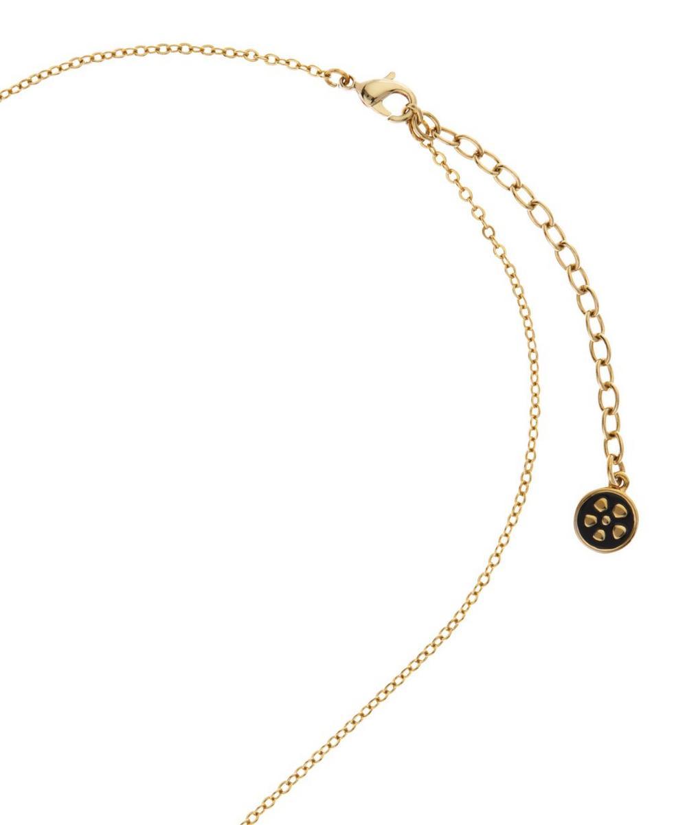 Imran Enamel Elephant Pendant Necklace