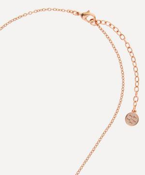 Ianthe Enamel Short Pendant Necklace