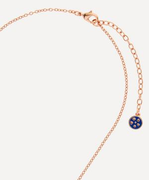 Ianthe Enamel Short Pendant Necklace