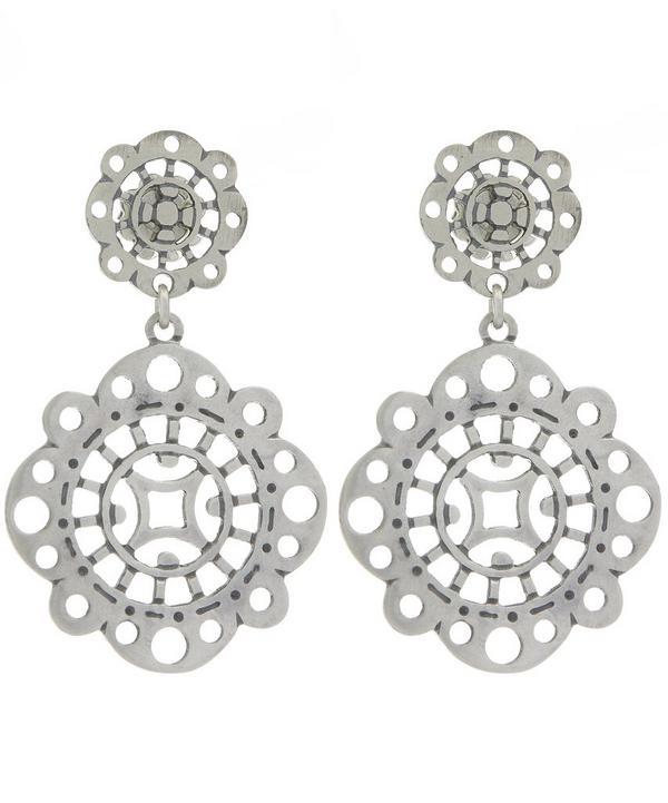 Small Silver Tagada Earrings