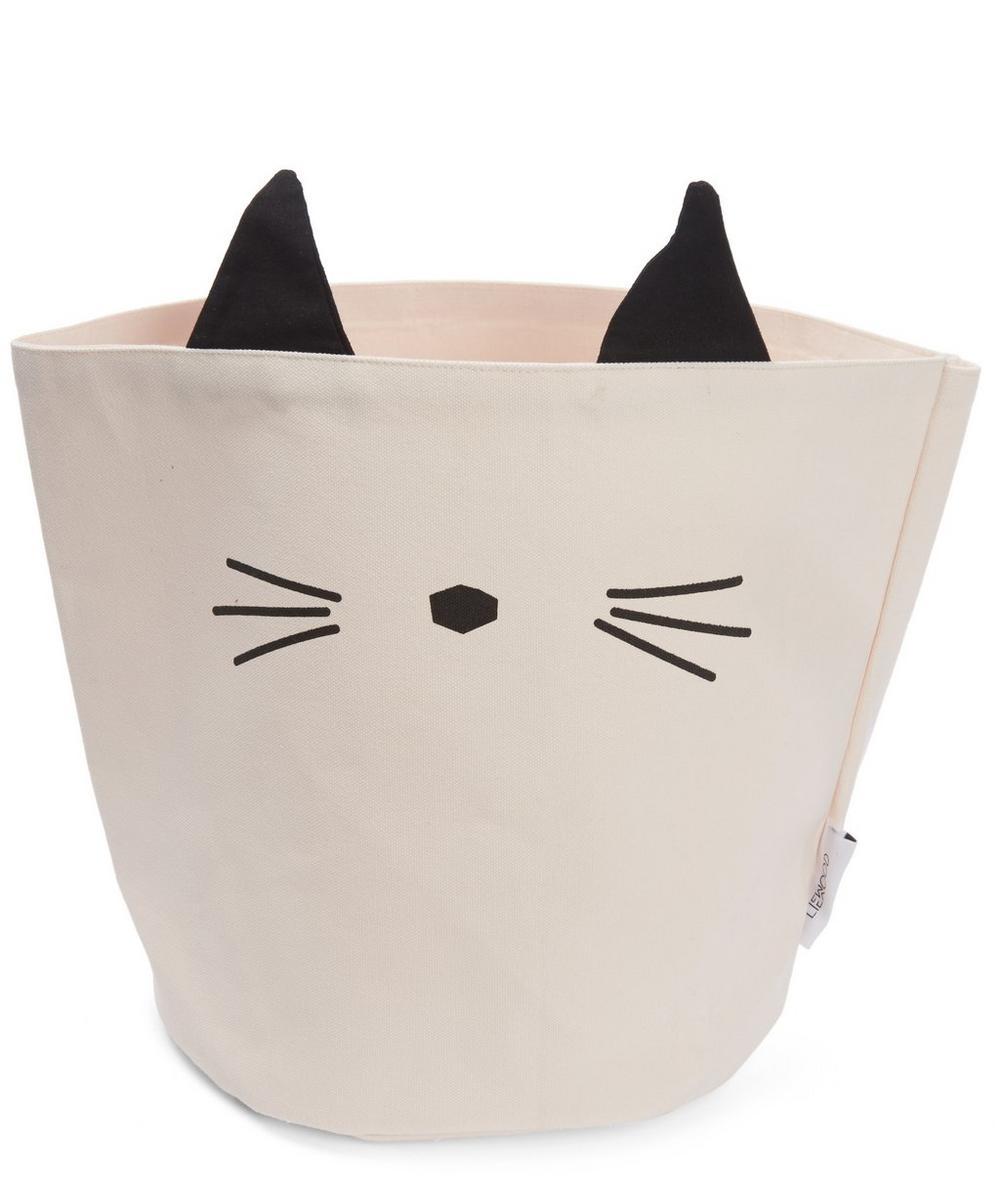 Cat Fabric Basket