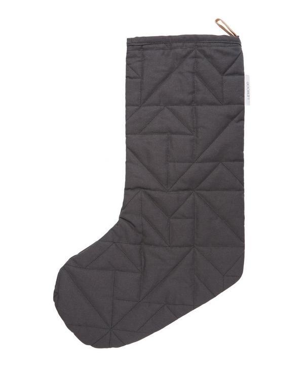 Panda Christmas Sock