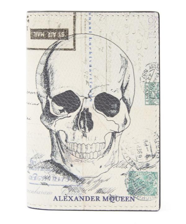 Skull Print Card Case