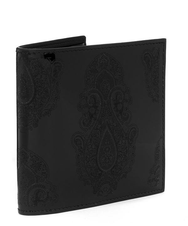 Patent Paisley Billfold Wallet