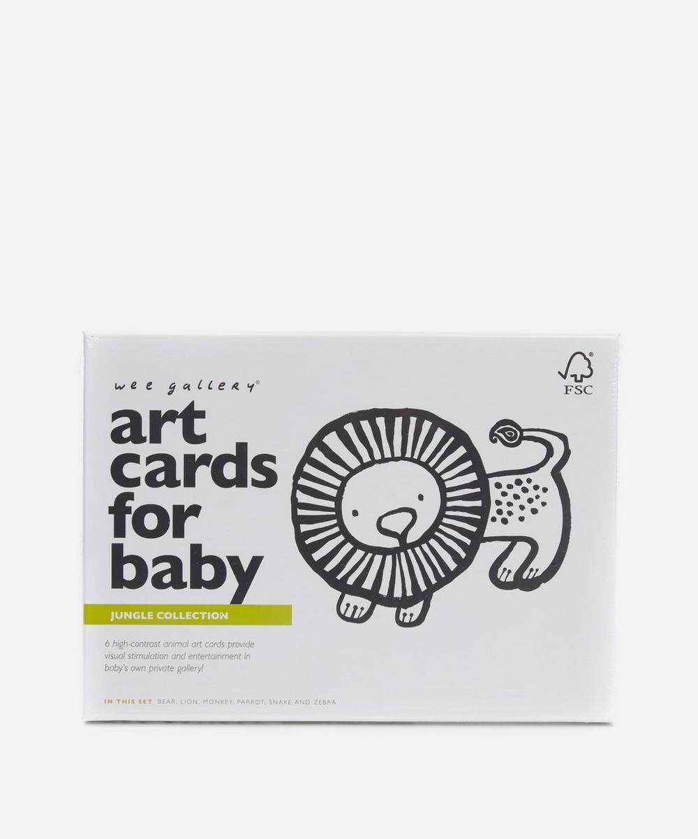 Jungle Art Cards For Baby