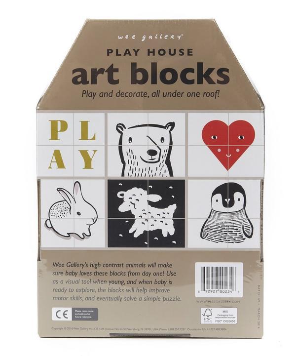 Play House Art Blocks