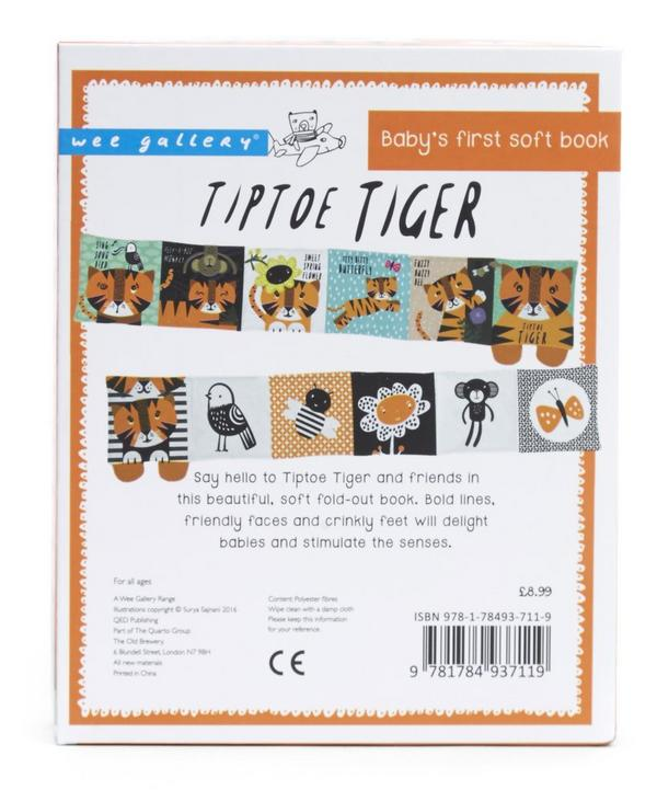 Tip Toe Tiger - Baby's First Soft Book