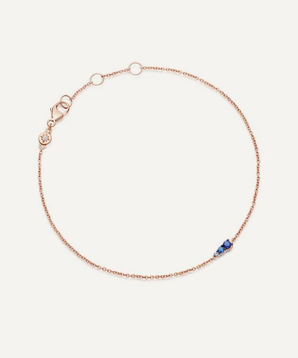 Rose Gold Sapphire Mini Interstellar Bracelet