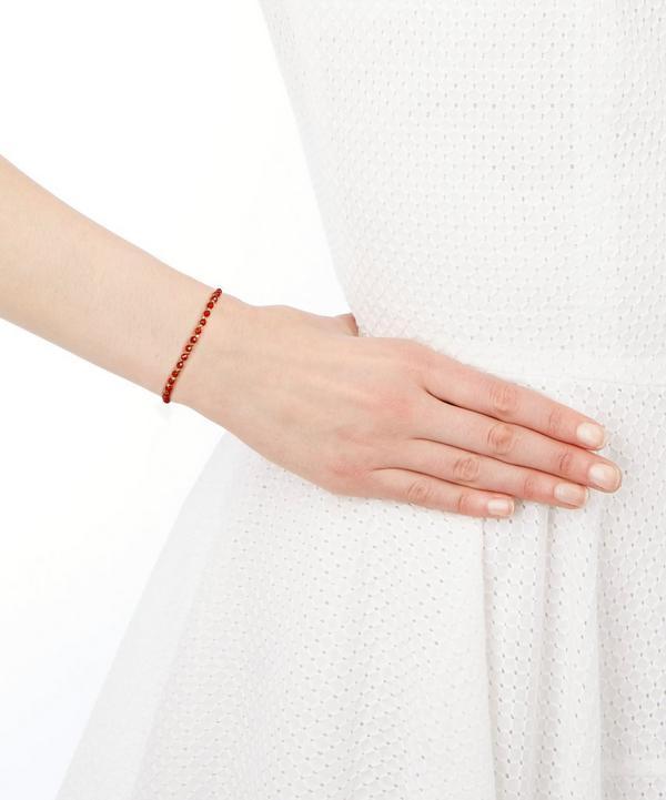Agate Hamsa Kula Bracelet
