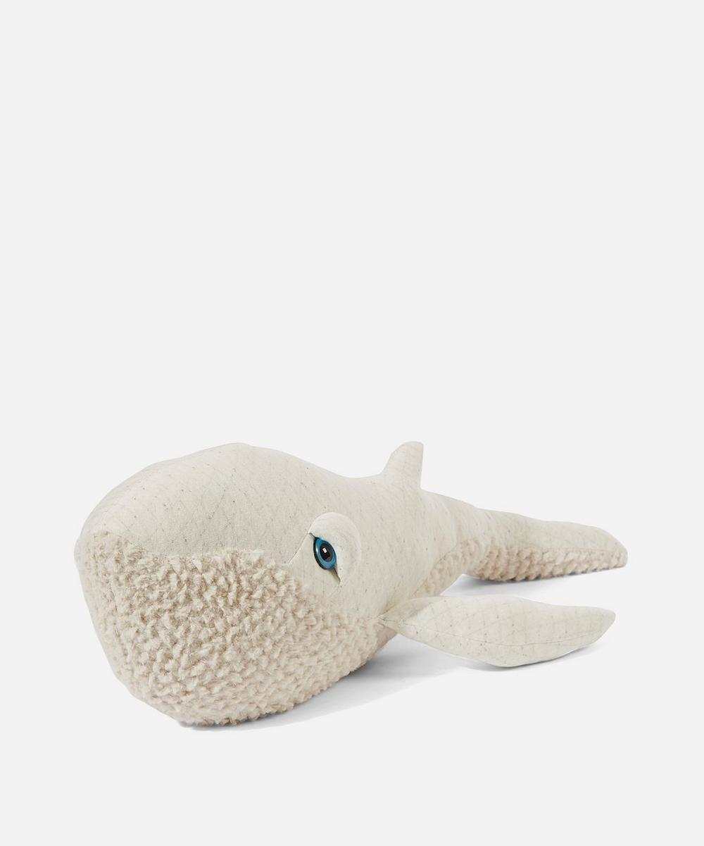 Small Albino Whale Toy