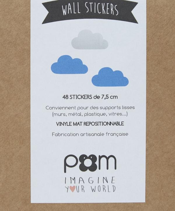 Blue Cloud Wall Stickers