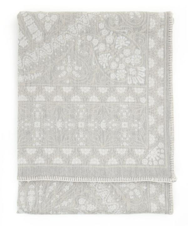 Aurora Wool and Silk Throw