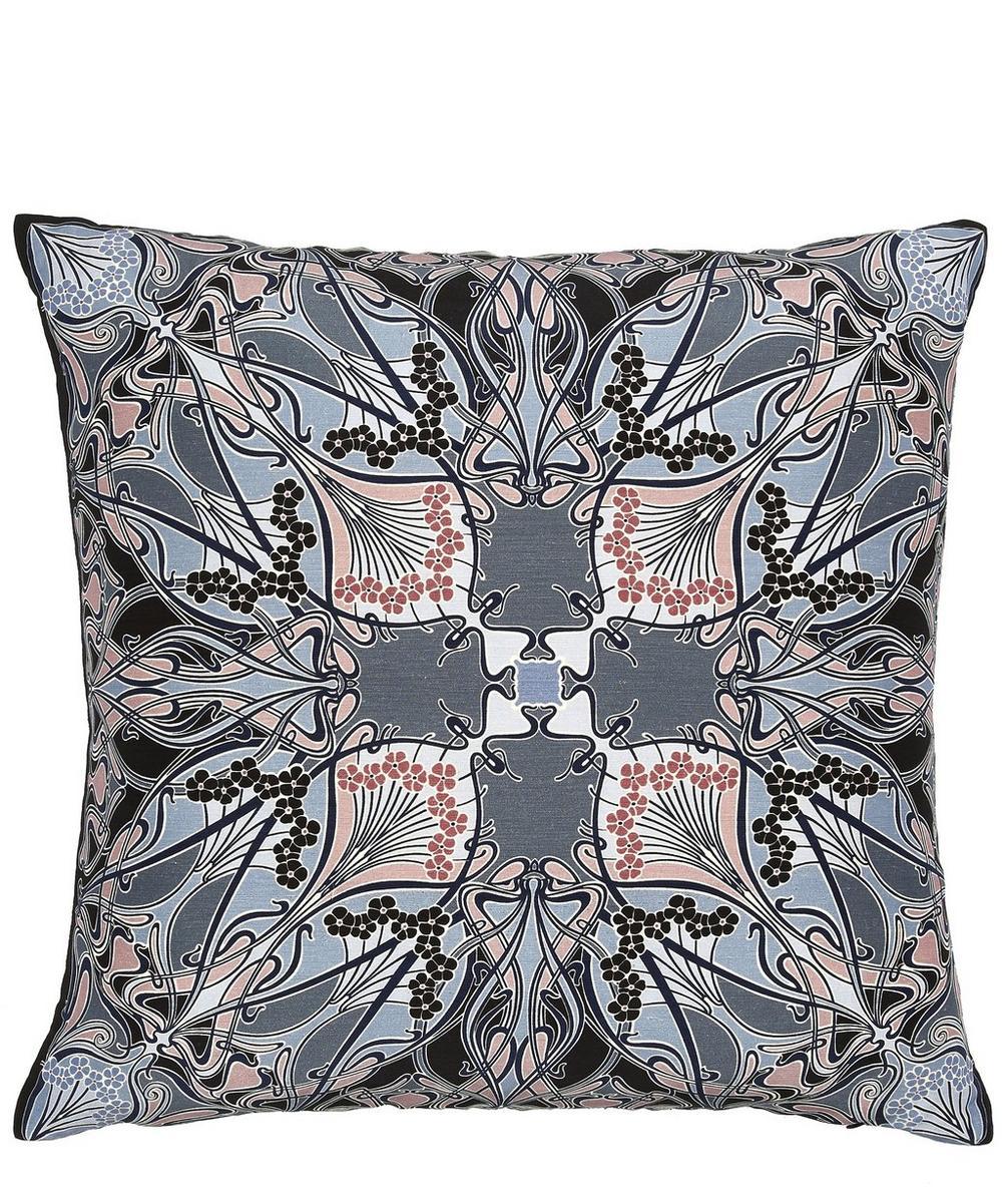 Ianthe Silk and Linen Cushion