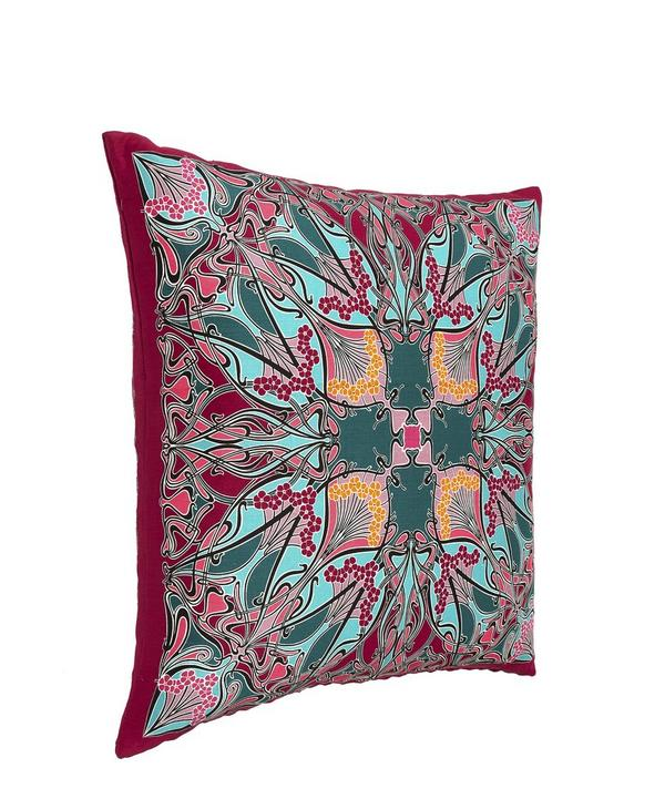 Ianthe Silk and Linen Cushion