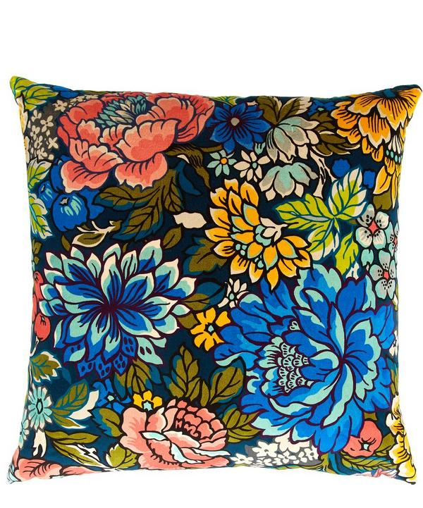 Garden of Beauty Velvet Cushion