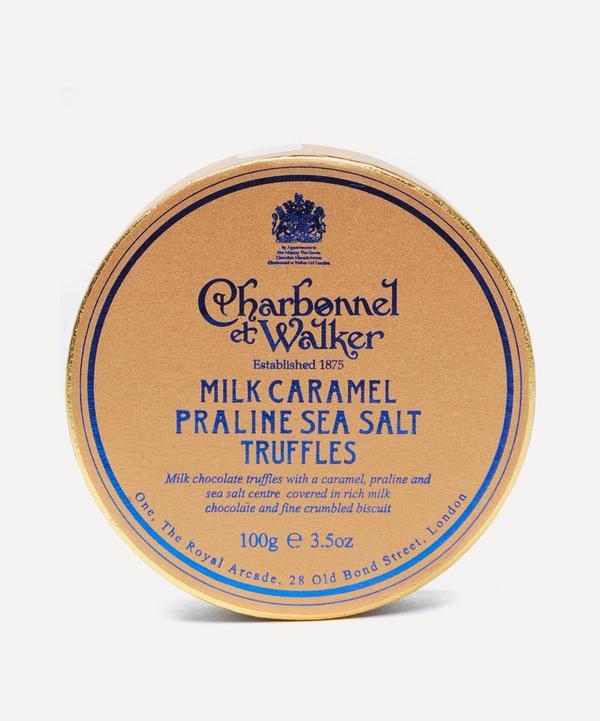 Milk Caramel Sea Salt Truffles