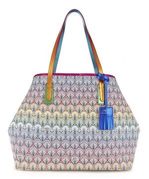Marlborough Tote Bag in Rainbow Canvas