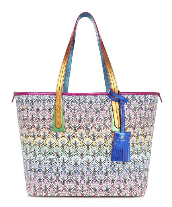 Little Marlborough Tote Bag in Rainbow Canvas