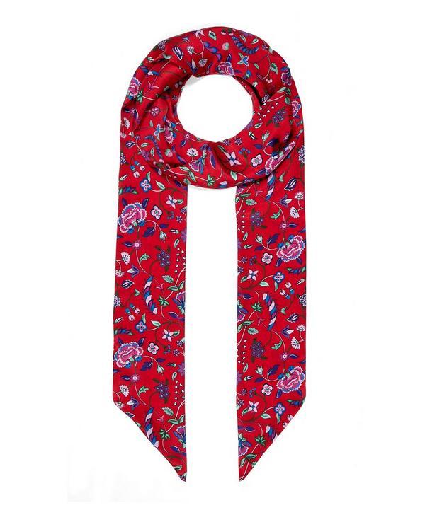 Astrid 10 x 200 Silk Twill Scarf