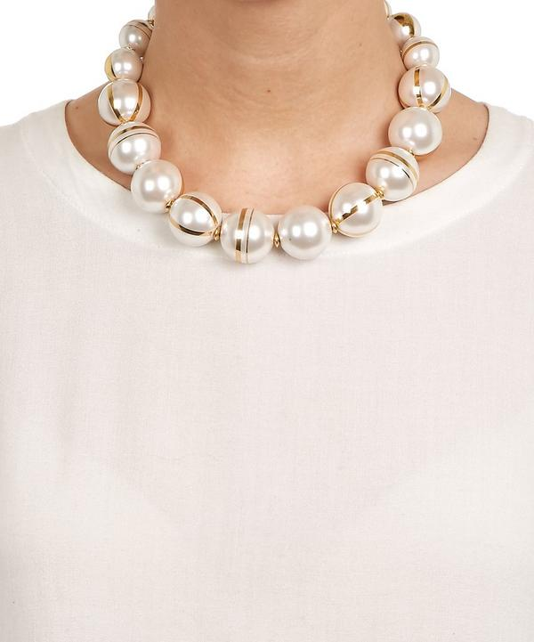 Margarite Multi Pearl Necklace