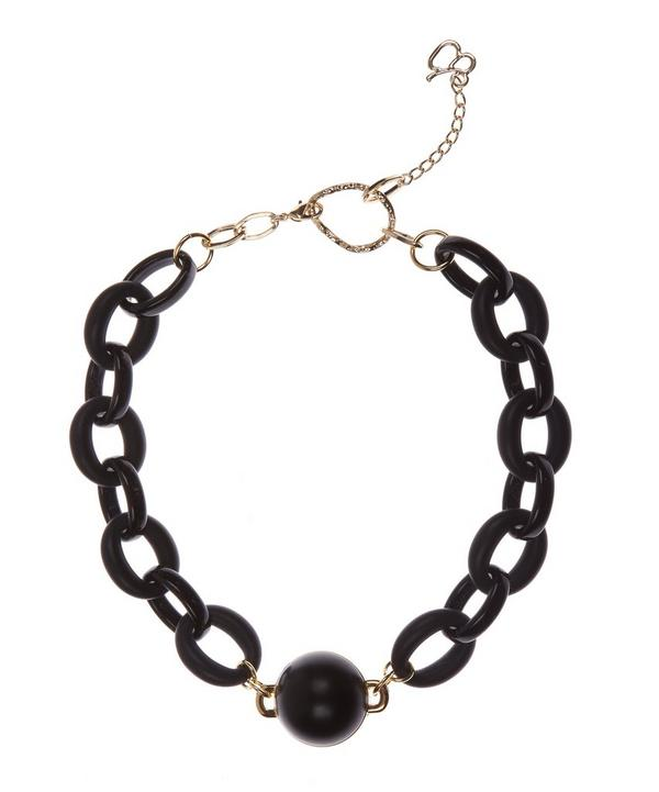 Ball and Chain Number 11 Necklace