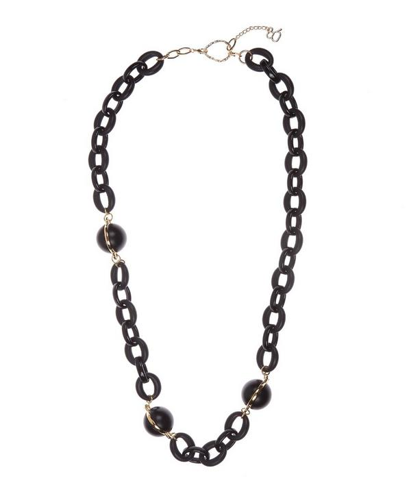 Ball and Chain Number 22 Necklace