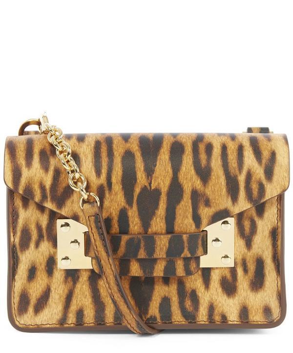 Hulme Nano Milner Leopard Print Crossbody Bag